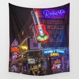 Nights in Nashville Wall Tapestry