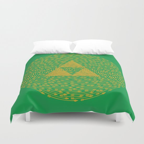 The Relic Under Siege Duvet Cover