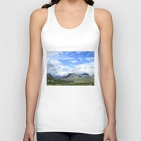 norway Tank Tops featuring Rondane - Norway by AstridJN