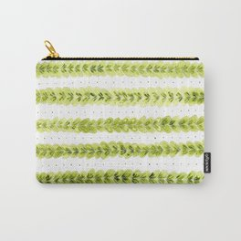 Leaf Pattern in Watercolour Carry-All Pouch