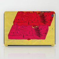 industrial iPad Cases featuring INDUSTRIAL CHEESE by kasi minami