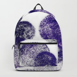 Purple Cirlcles Backpack