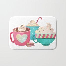 Hot Cocoa and Coffee Bath Mat