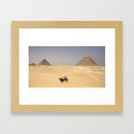 sands of time Framed Art Print