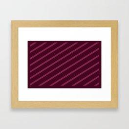 Cross Hatched 3 Framed Art Print