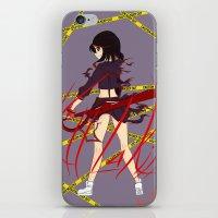 kill la kill iPhone & iPod Skins featuring Kill la Kill by Jojieon