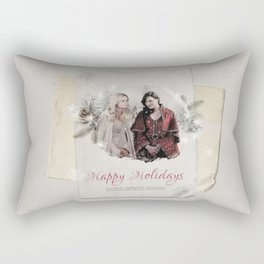OUAT HAPPY HOLIDAYS // Swan Queen Rectangular Pillow