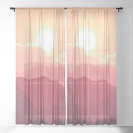 Hello Sunshine Sheer Curtain