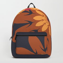 Vector Flower 105 Graphic Art Print Backpack