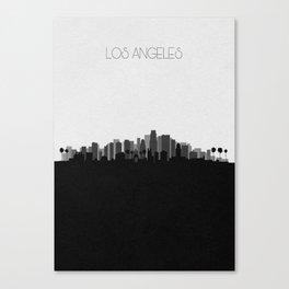 City Skylines: Los Angeles (Alternative) Canvas Print