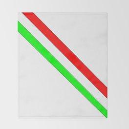 flag of Italia scarf- Italy,Italia,Italian,Latine,Roma,venezia,venice,mediterreanean,Genoa,firenze Throw Blanket