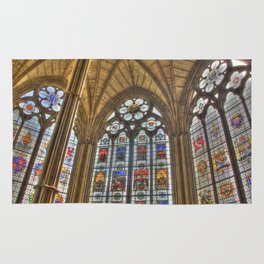 Windows of Westminster Abbey Rug