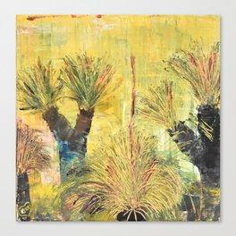 Rustic Grass Tree Canvas Print
