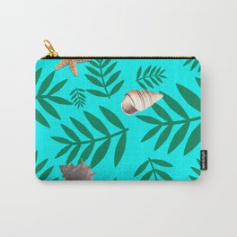leaf coral Carry-All Pouch