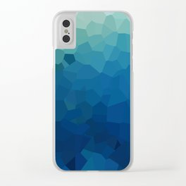 Sea Moon Love Clear iPhone Case