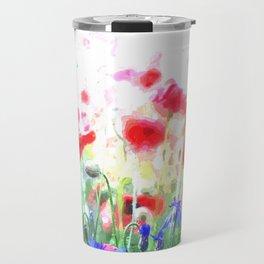 Poppy Haze Travel Mug