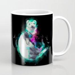 Painted Ferret Coffee Mug
