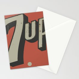 Retro Sign Stationery Cards