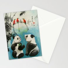 trio orchestra Stationery Cards