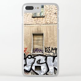 Fisk Clear iPhone Case
