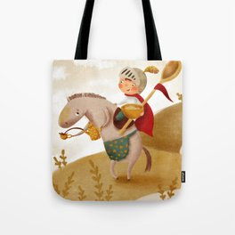 Cookie Knight Tote Bag