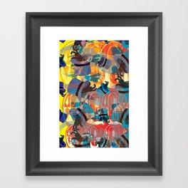 Dada Bunnies Framed Art Print