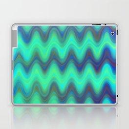Agate Wave Blue - Mineral Series 001 Laptop & iPad Skin