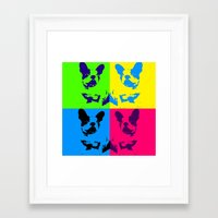doge Framed Art Prints featuring doge by myepicass