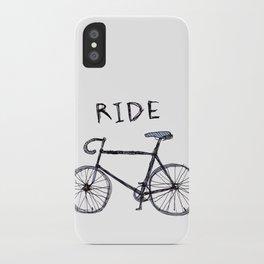 bike ride iPhone Case