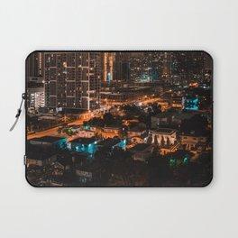 Biscayne Buildings Night Laptop Sleeve