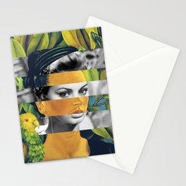Self Portrait with Bonito & Sophia Loren Stationery Cards
