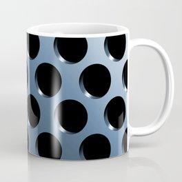 Cool Steel Graphic Art Like Polka Dots Coffee Mug