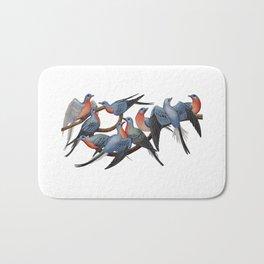 Passenger Pigeons Bath Mat