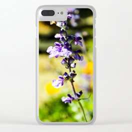 Violet Vision Clear iPhone Case