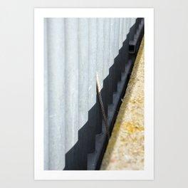 Peeping Rope Art Print