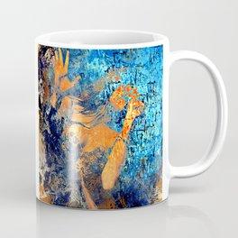 The Female Singer By Annie Zeno  Coffee Mug