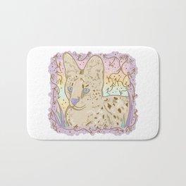 Pretty Little Serval Bath Mat