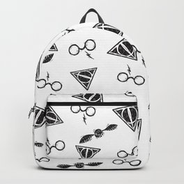 Glasses, Hallows, Seeker | HP Fan Art Collection Backpack