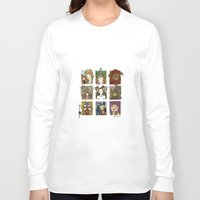 labyrinth Long Sleeve T-shirts featuring Labyrinth by Steven Learmonth