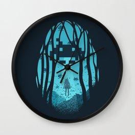 8 Bit Invasion Wall Clock