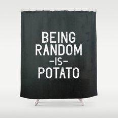 Random Shower Curtain