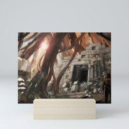 Lost Temple Mini Art Print