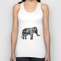 ganesh Tank Tops featuring Ganesh by doctusdesign