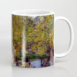 Claude Monet : A Corner of the Garden at Montgeron Coffee Mug