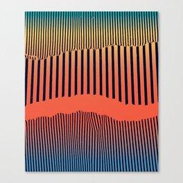 Unfolds Mountain Canvas Print