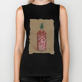 Sriracha Sauce - These are the things I use to define myself Biker Tank