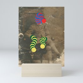Mr Slinky Mini Art Print