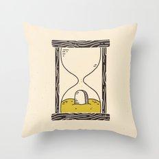 Time's Up Throw Pillow