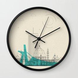 Colorful Skylines: Ivory Coast Wall Clock