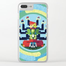 Technology Hub Clear iPhone Case